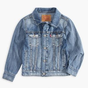 Vintage Levi's Denim Jacket Customized